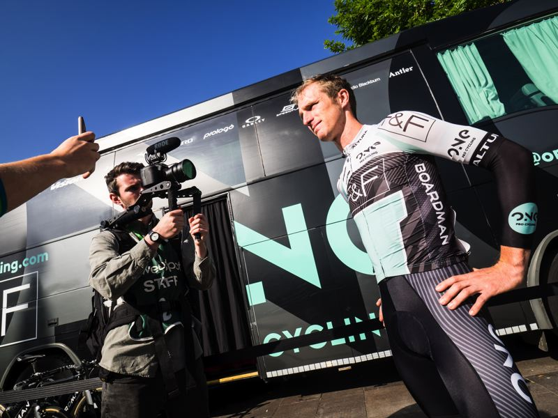 ONE PRO CYCLING MAINTAIN TWO TOP TEN GC PLACES AT HALFWAY POINT