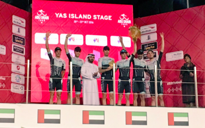 ONE PRO CYCLNG WIN THE OVERALL TEAM CLASSIFICATION AT THE ABU DHABI TOUR