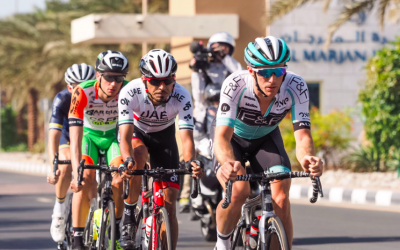 PETE WILLIAMS ENJOYS A DAY IN THE BREAK ON DAY TWO IN DUBAI