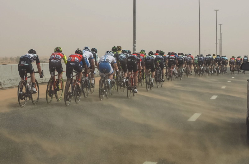 CROSSWINDS AND DESERT STORMS CAUSE CHAOS ON STAGE THREE