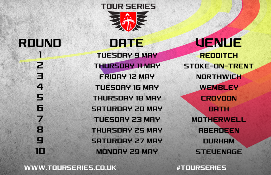 TOUR SERIES UNVEILS NEW ROUNDS AND 2017 CALENDAR