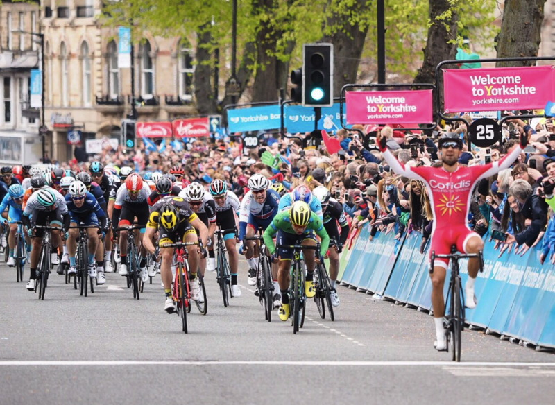 VON HOFF NARROWLY MISSES TOP 10 IN HARROGATE BUNCH SPRINT