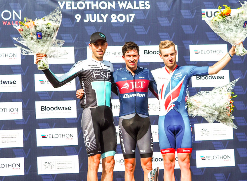 DOMAGALSKI SECURES 2ND AT VELOTHON WALES