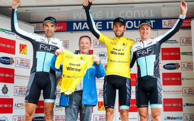 ONE PRO CYCLING DOMINATE ON STAGE ONE AT TOUR OF THE RESERVOIR