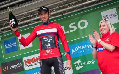 DOMAGALSKI REWARDED FOR STRONG RIDE IN TOUR OF BRITAIN OPENER