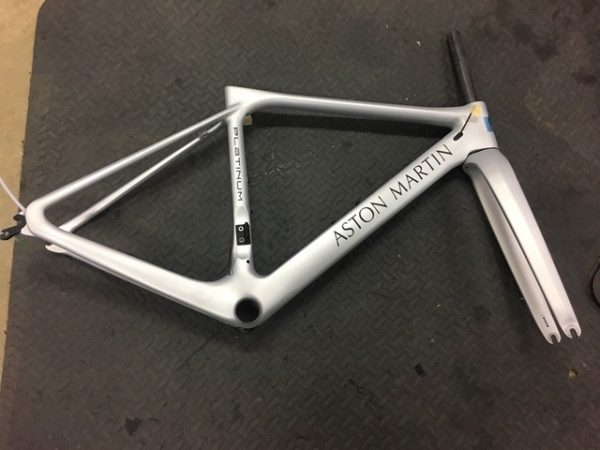 Aston Martin Storck Fascenario.3 Bike Frame with Fork