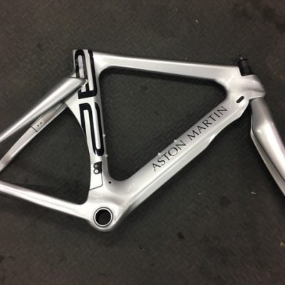 Aston Martin Storck Aero 2 Platinum TT Bike Frame with Fork
